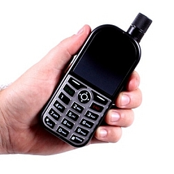 Plastic Cell Phone Flask with Case