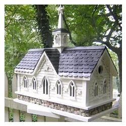 Mid-Western Dweller Architectual Birdhouse