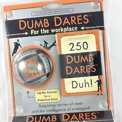 Dumb Dares for the Workplace Game