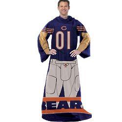 Chicago Bears Player Uniform Comfy Throw