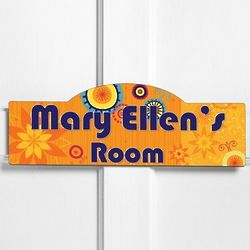 Personalized Sunny Days Kid's Room Sign