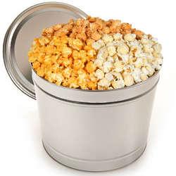Triple Cheddar 2-Gallon Popcorn Tin