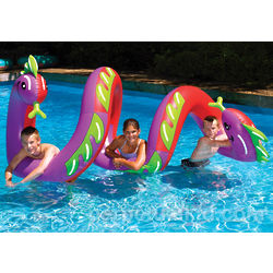 Curly Serpent Pool Float