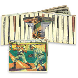 Baseball Sonic Musical Wallet