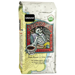 Raven's Brew Deadman's Reach Organic Ground Coffee