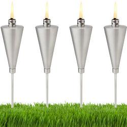 Mini Stainless Steel Garden Torches