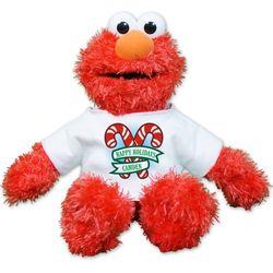 Happy Holidays Elmo Plush