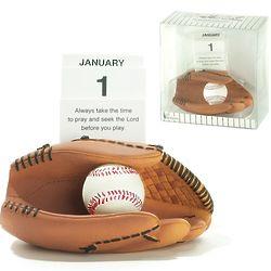 Baseball Prayer Card Calendar