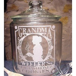 Personalized Grandma's Cookie Jar