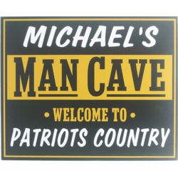 Welcome to The Man Cave Personalized Pub Sign