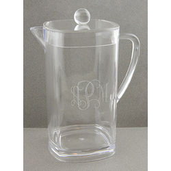 Personalized Acrylic Pitcher with Lid