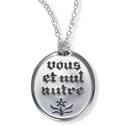 'Vous et Nul Autre' You And No Other Necklace