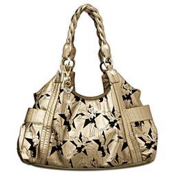 Tinker Bell Metallic Magic Gold Handbag