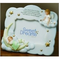 Sweet Dreams Lullaby Prayer Photo Frame