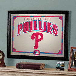 Philadelphia Phillies Framed Mirror