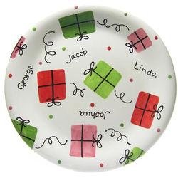 Festive Present Plate