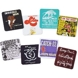 Literary Coaster Set