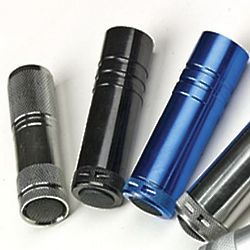 LED Aluminum Flashlights with Batteries