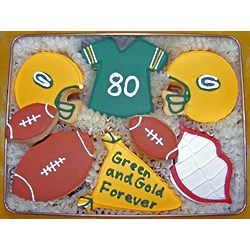 Donald Driver Tribute Cookies