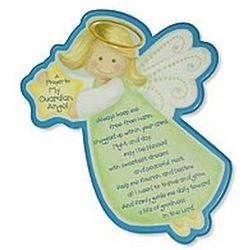 Always Keep Me Free From Harm Guardian Angel Plaque