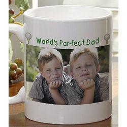 Golf Photo Personalized Coffee Mug