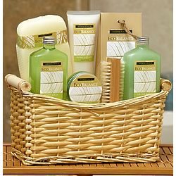 Lemon Eucalyptus Spa Basket