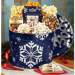Snowy Night Snack Assortment Tin