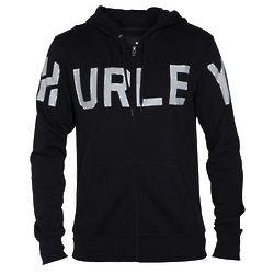 Hurley Stadium Black Zip Hoodie