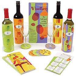 WineParty Game Tasting Kit