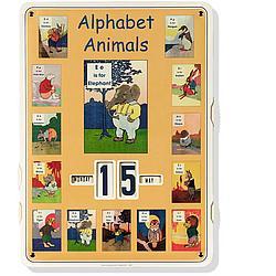 Alphabet Animal Calender