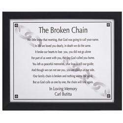 Broken Chain Print