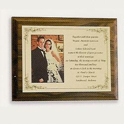 Wedding/Photo Invitation Plaque