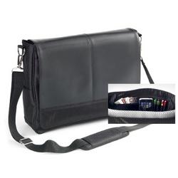 Hip Hop Lightweight Messenger Bag with Leather Flap