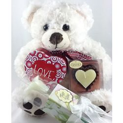 Say Your Love Bear, Candles, and Chocolates