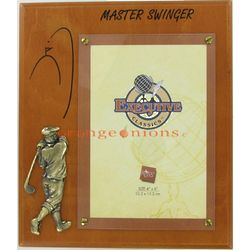 Master Swinger Golf Photo Frame