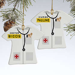 Personalized Doctor Christmas Ornament