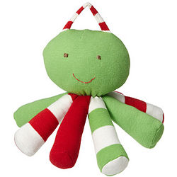 Holiday Scraptopus Stuffed Animal