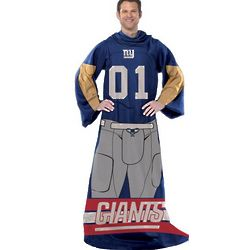 New York Giants Player Uniform Comfy Throw