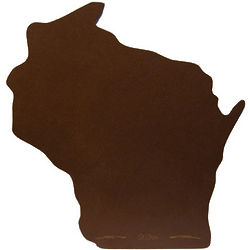 Wisconsin Shape Stonewood Cutting Board