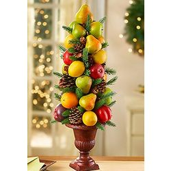 Faux Fruit Cone Tree