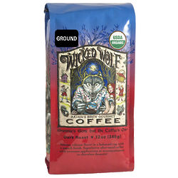 Raven's Brew Wicked Wolf Organic Ground Coffee