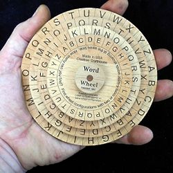 Word Wheel Puzzle