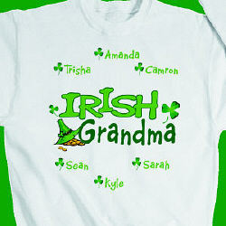 Personalized Irish Sweatshirt