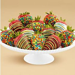 1 Dozen Hand-Dipped Birthday Berries