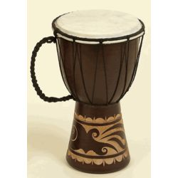 "12"" Djembe Toca Wood / Leather African Drum"