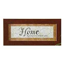 Home Blessing Caligraphy Framed Print