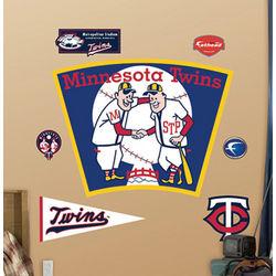 Fathead Minnesota Twins Logo