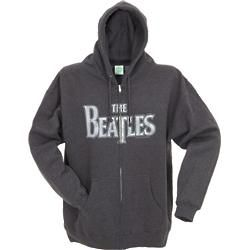 Beatles Vintage Logo Men's Zippered Hoodie
