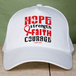 AIDS Awareness Red Ribbon Hat