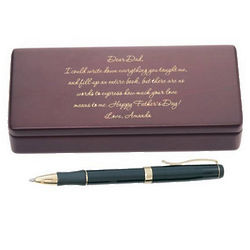 Letter to Dad Personalized Pen and Box